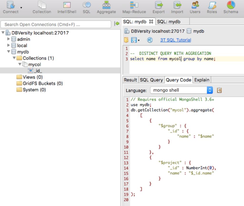 Write SQL to query MongoDB? You bet! :